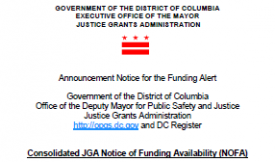 closeup of cover for funding grants